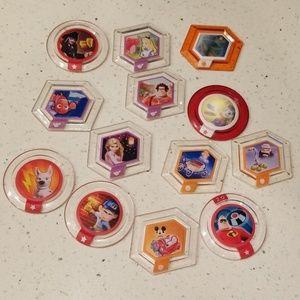 Disney Infinity  Power Disc Lot